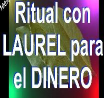 RITUAL ATRAE DINERO con LAUREL y MONEDAS senor caveira