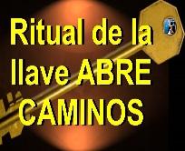 RITUAL dela LLAVE ABRECAMINOS y ATRAE DINERO senor caveira