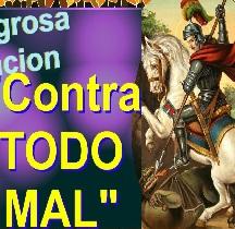 Oracion a SAN JORGE Contra Todo MAL senor caveira