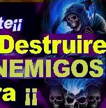 Oracion a la Santa muerte para destruir a un enemigo senor caveira